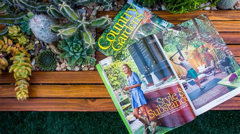 on stands now our feature in country gardens magazine