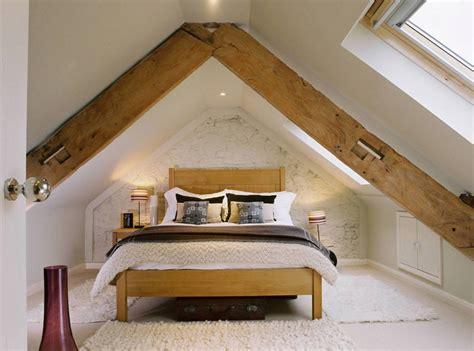 Loft Style Bedroom Design At The Attic-small Design Ideas