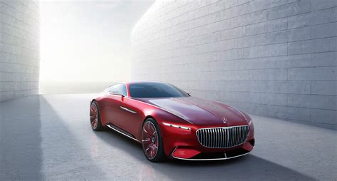 Mercedes-maybach All-electric Concept Coupe Sets New