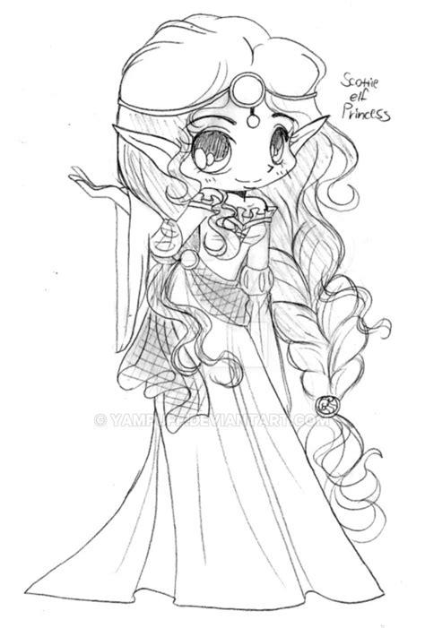 scottish elven princess sketch  yampuff  deviantart
