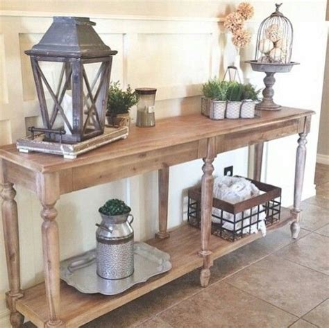 diy sliding barn door 34 stylish console tables for your entryway digsdigs