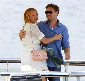 Leonardo DiCaprio Flirting With Blake Lively In Front Of ...
