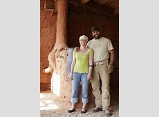 Building with bales Couple create straw house to live off