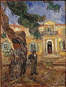 Saint-paul Asylum  Saint-r U00e9my  Van Gogh Series