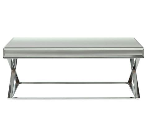 buy heart  house piazzo mirrored top coffee table