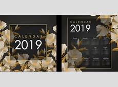 2017 2018 2019 calendar free vector download 1,629 Free