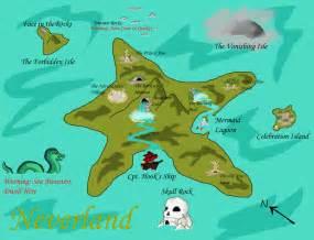 Neverland Island Map