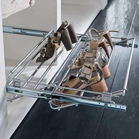 pull  shoe rack width adjustable