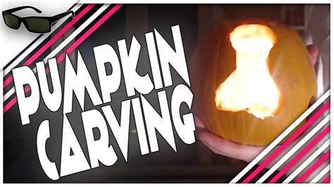 dion  friday pumpkin carving  dog bone  halloween