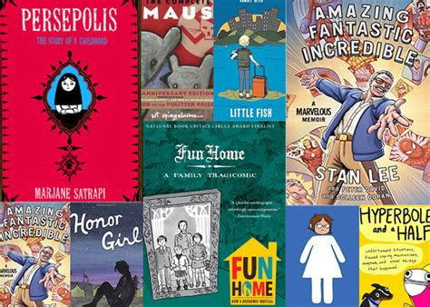 8 Wise And Witty Graphic Memoirs Every Teen Should Read