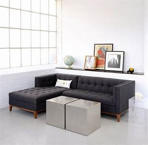 15 collection of apartment size sofas and sectionals for Sectional sofa in middle of room