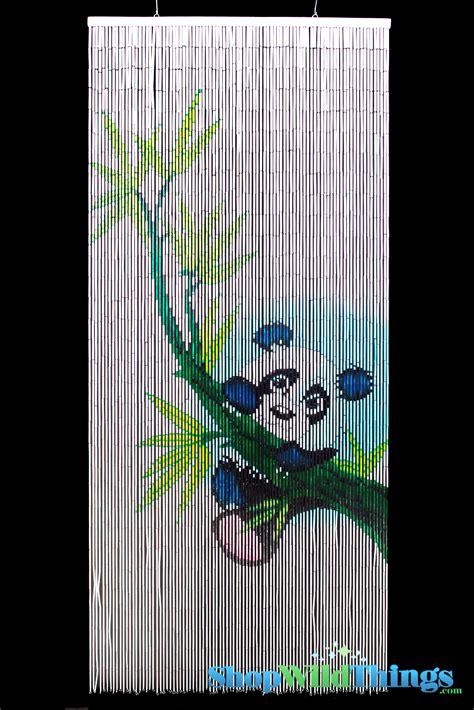 panda bear curtains panda bear hanging from bamboo