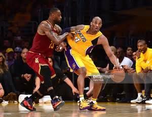 Lakers Kobe Bryant LeBron James Cleveland