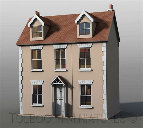 Cottage Dolls House Willow Cottage Dolls House 1 12 Scale Unpainted Dolls