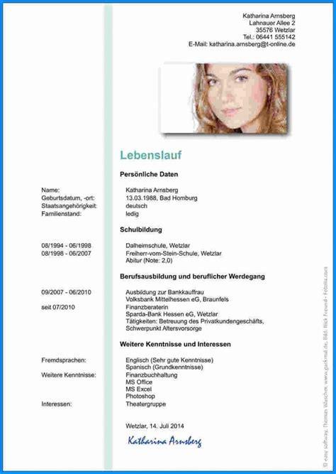 Tabellarischer Lebenslauf Uni Vorlage by Ideal Lebenslauf F 252 R Uni Vorlage Tabellarischer