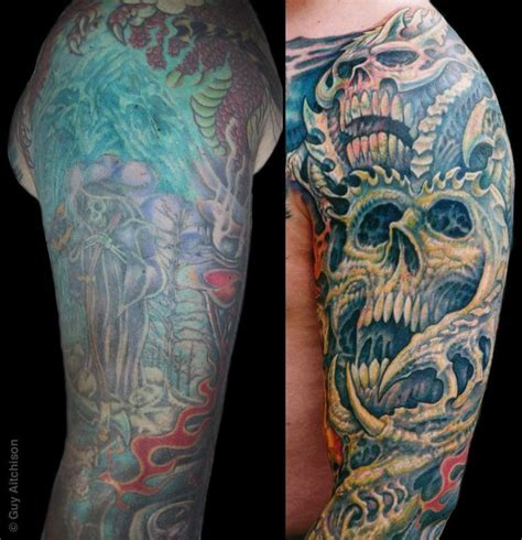 Half Sleeve Tattoo Covers Tattoo Art