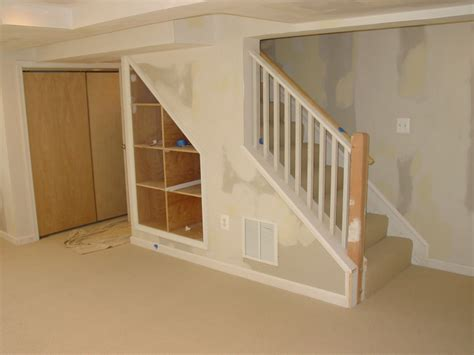 Railing Ideas For Basement Stairs  Houses Plans Designs