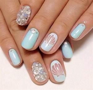 Seashell nails   Nail Design   Pinterest