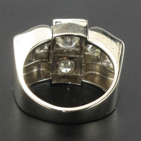 bague d 233 co diamants platine bague ancienne