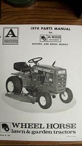 Wheel Horse A Catalog