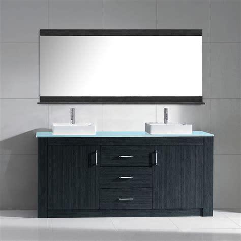 modern double sink vanity 60 inch modern double sink bathroom vanity grey finish
