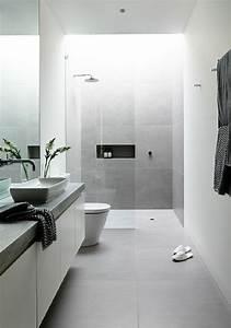Graue Fliesen Welche Wandfarbe : ber ideen zu moderne badezimmer auf pinterest ~ Lizthompson.info Haus und Dekorationen