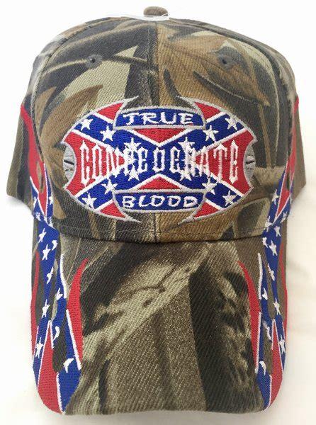 camo true confederate blood embroidered baseball cap dl grandeurs confederate rebel goods