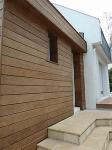 bardage bois exterieur amenagement exterieur bois With bois de bardage exterieur