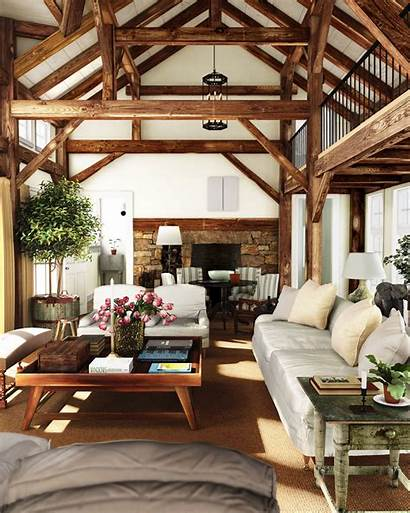 Cozy Rustic Living Wood Countryside 3d Europe