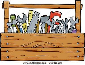 Toolbox On White Background Vector Illustration Stock ...