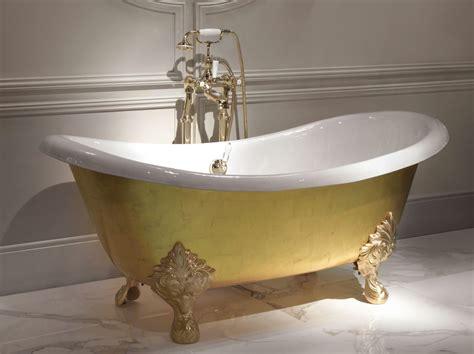 baignoire a l ancienne baignoire de feuille d or mida by