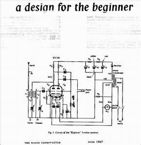 vintage radio and electronics 1 valve beginners receiver With valve radio circuit
