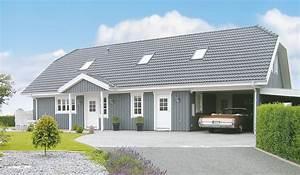 Fertighaus Holz Bungalow : danhaus fertighaus holzhaus zweifamilienhaus mit einliegerwohnung ~ Orissabook.com Haus und Dekorationen