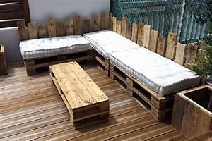 Salon De Jardin En Palette De Bois : table jardin palette a dun en table basse de jardin avec palette en bois ~ Voncanada.com Idées de Décoration