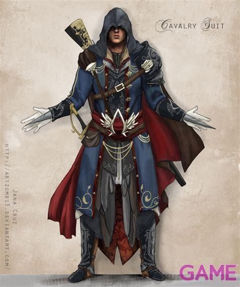 modern assassins creed costume ac gameaus ezio costume design by artzombi3 assassin s creed costume design