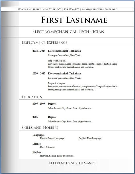 free pdf resume templates free resume template download ingyenoltoztetosjatekok com