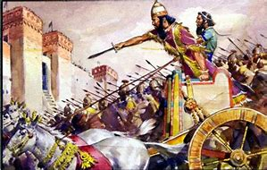Image result for king of babylon layes seige on Jerusalem