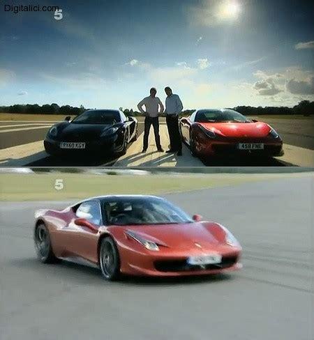 Mclaren Mp4 12c Vs 458 by Fifth Gear Mclaren Mp4 12c Vs 458 Italia Digitalici