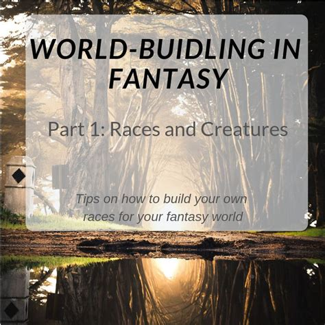 Learn how to create realistic and believable races for ...