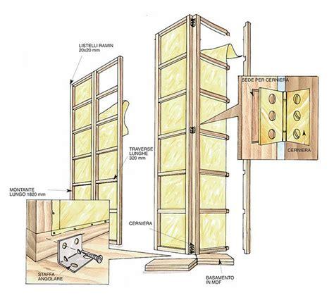 le pareti in legno o come costruire un separè in legno tutti i passaggi illustrati bricoportale fai da te e