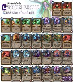 Druid Deck Hearthstone Basic by Basic Druid Deck Hearthstone Decks Decks