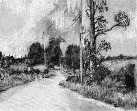 landscape drawings  behance