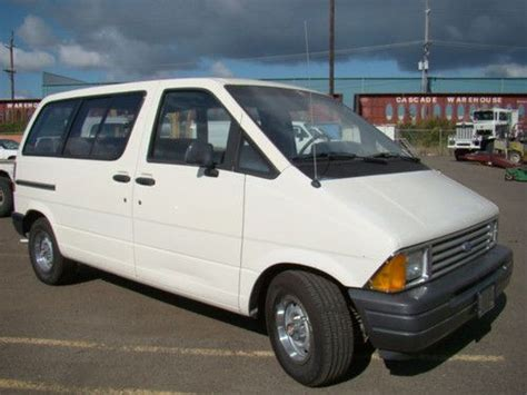 auto body repair training 1988 ford aerostar free book repair manuals purchase used 1989 ford aerostar cargo van w wheelchair lift in college park maryland united