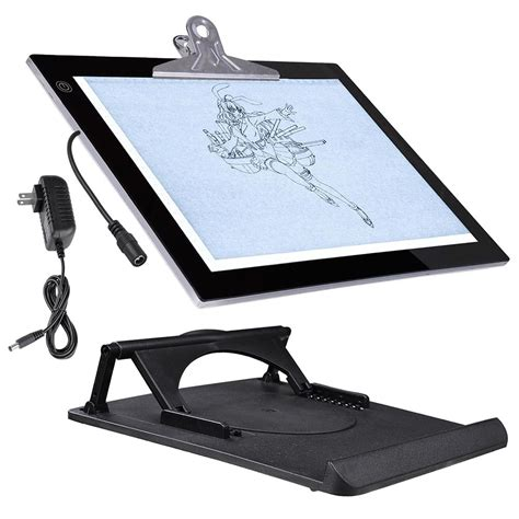 light table for tracing a yescom 14 in led artist stencil board drawing