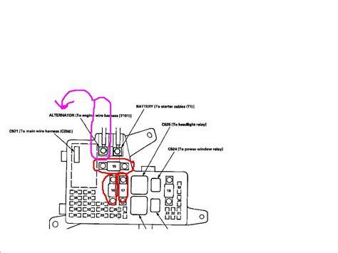 1999 Honda Crv Fuse Box by 2002 Honda Crv Fuse Box Diagram Html Imageresizertool