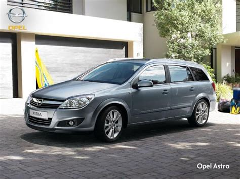 Opel Astra Estate by Opel Astra Estate Best Photos And Information Of