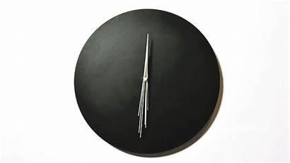 Clocks Clock Minimalist Perspective Stylish Lapse Animated