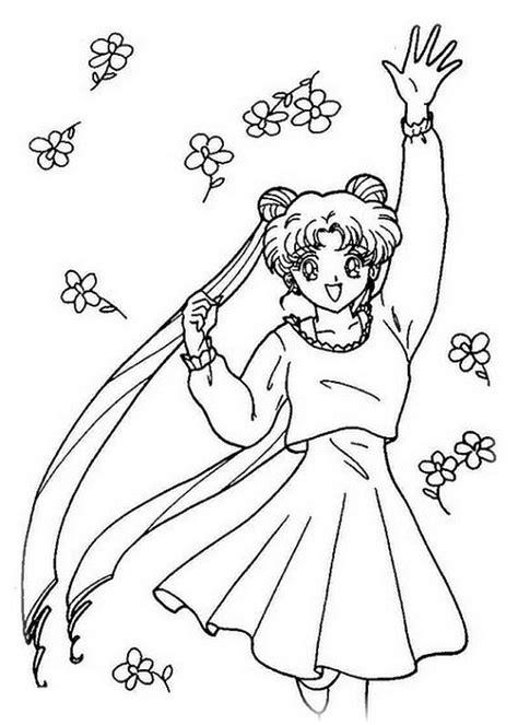 ausmalbilder fuer kinder sailor moon