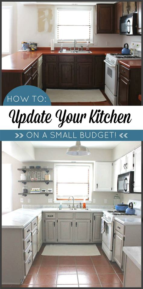 diy kitchen makeovers kitchen makeover on a budget transform your kitchen with 3407