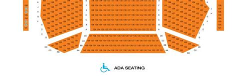 Orange County Performing Arts Seating Chart